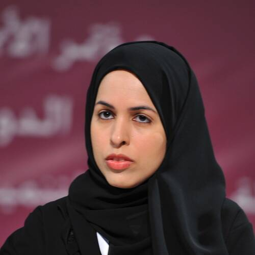 Alya Ahmed Saif Al-Thani