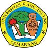 17 August 1945 University, Semarang logo