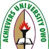Achievers University, Owo logo