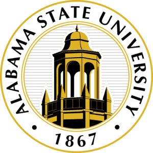 Alabama State University logo