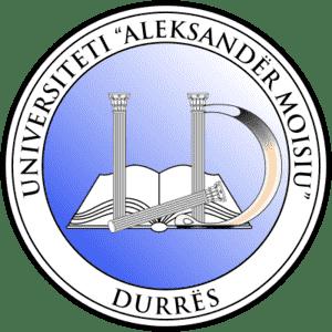 Aleksander Moisiu University of Durres logo