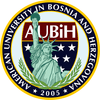 American University in Bosnia and Herzegovina logo