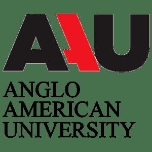 Anglo-American University logo