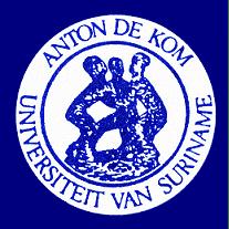 Anton de Kom University of Suriname logo