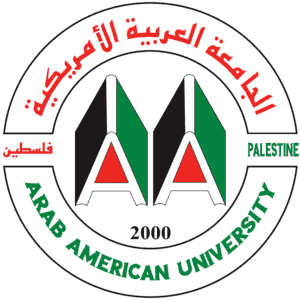 Arab American University logo