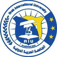 Arab International University logo