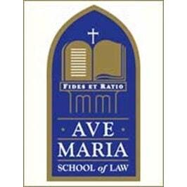 Ave Maria School of Law logo