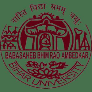 Babasaheb Bhimrao Ambedkar Bihar University logo