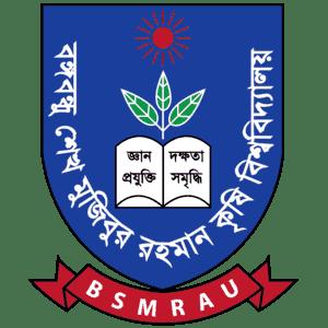 Bangabandhu Sheikh Mujibur Rahman Agricultural University logo