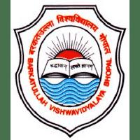 Barkatullah University logo