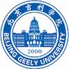 Beijing Geely University logo