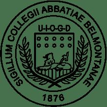 Belmont Abbey College logo