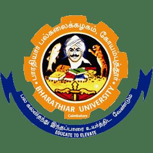 Bharathiar University logo