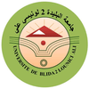 Blida 2 University logo