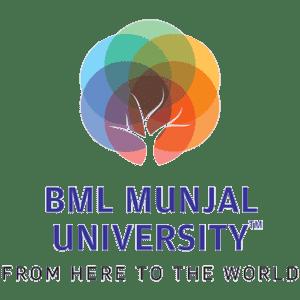 BML Munjal University logo