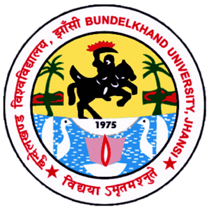 Bundelkhand University logo
