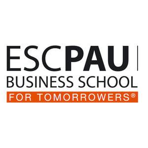 Business School ESC PAU logo