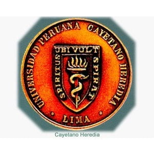 Cayetano Heredia Peruvian University logo