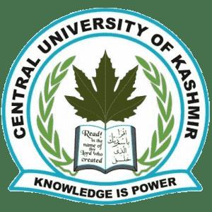 Central University of Kashmir logo