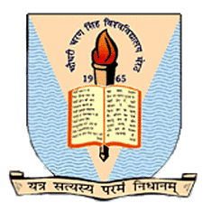 Chaudhary Charan Singh University logo