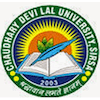 Chaudhary Devi Lal University logo