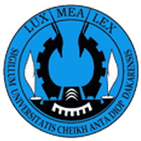 Cheikh Anta Diop University logo