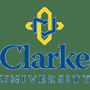 Clarke University logo