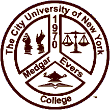 CUNY Medgar Evers College logo