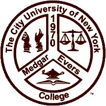 CUNY Medgar Evers College logo