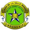 De La Salle Catholic University logo