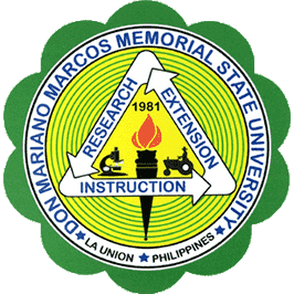 Don Mariano Marcos Memorial State University logo