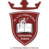 Dr. A.P.J Abdul Kalam University logo