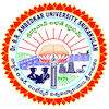 Dr. B.R. Ambedkar University logo