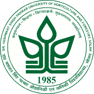 Dr. Y.S. Parmar University of Horticulture and Forestry logo