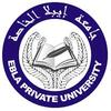 Ebla Private University logo