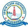 Edwin Clark University logo