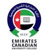 Emirates Canadian University College logo