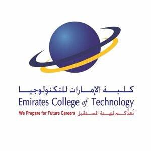 Emirates College of Technology logo