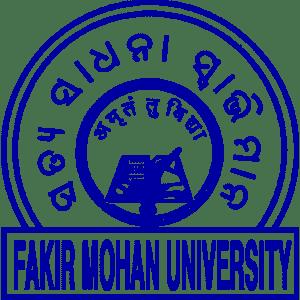 Fakir Mohan University logo