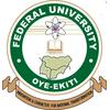 Federal University, Oye-Ekiti logo