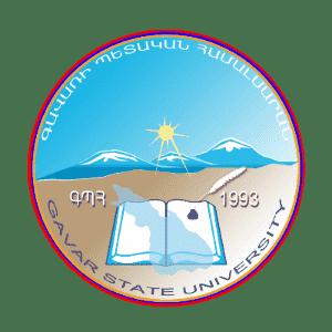 Gavar State University logo