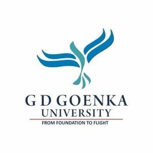 GD Goenka University logo