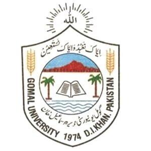 Gomal University logo