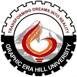 Graphic Era Hill University logo