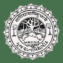Gujarat Vidyapith University logo