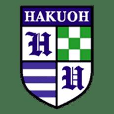 Hakuoh University logo