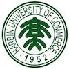 Harbin University of Commerce logo