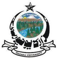 Hazara University logo