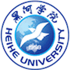 Heihe University logo