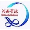 Hexi University logo